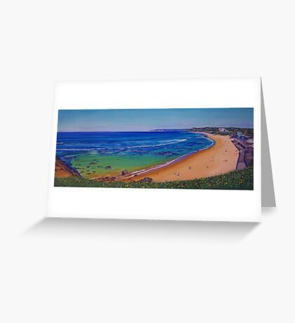 Bar Beach, Newcastle, NSW, Australia Greeting Card