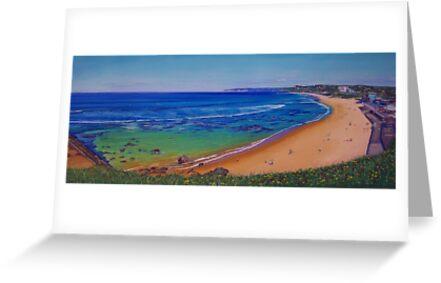 Bar Beach, Newcastle, NSW, Australia by carolelliott7