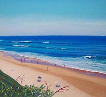 View to Bar Beach, Newcastle, NSW, Australia by carolelliott7