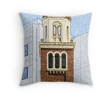 Towers and Turrets (10) Throw Pillow