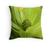 Green World Throw Pillow