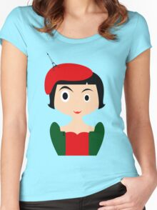 Amelie Women's Fitted Scoop T-Shirt