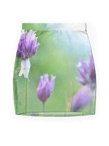 Chives Mini Skirt