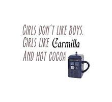 Carmilla/Doctor Who by BrandonAsahina