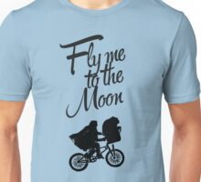 ET - Fly me to the moon Unisex T-Shirt