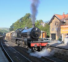 Summers Afternoon Grosmont by FritzFitton