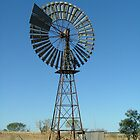 Windmill in the Northern Territory. by lib225