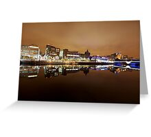 Glasgow Reflections Greeting Card