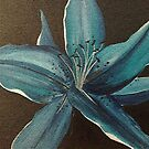 Blue Lily by Shelagh Linton