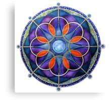 Mandala : Mystery Moon  Canvas Print