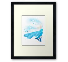 The Cold Never Bothered Me Anyway Framed Print