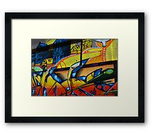 Graffiti in Vancouver Framed Print