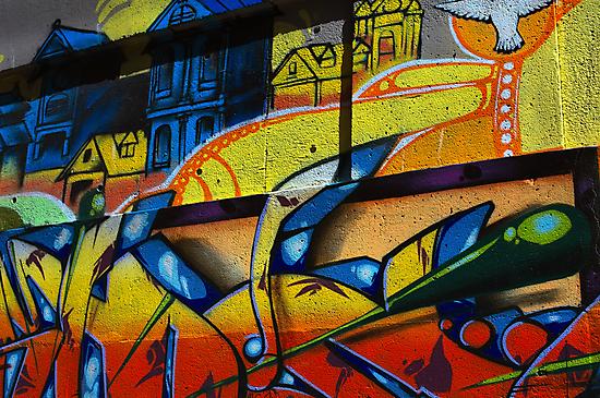 Graffiti in Vancouver by Luca Renoldi