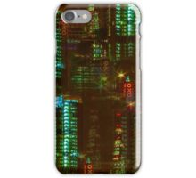 Abstract London Oxo Tower iPhone Case/Skin