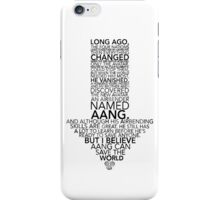 Avatar Monologue  iPhone Case/Skin