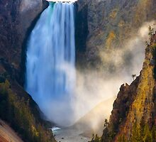 Lower Falls, Grand Canyon of Yellowstone. Yellowstone National Park. Wyoming. USA. by PhotosEcosse