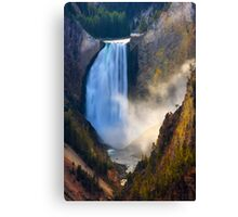 Lower Falls, Grand Canyon of Yellowstone. Yellowstone National Park. Wyoming. USA. Canvas Print