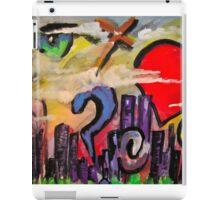 sky graffiti iPad Case/Skin