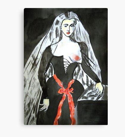 Agnès Sorel Supports Breast Cancer Research Canvas Print