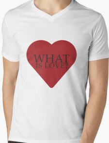 What is love? Mens V-Neck T-Shirt