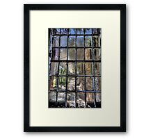 Fractured - Gladesville Asylum - The HDR Experience Framed Print