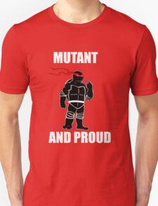 mutant and proud (white font) T-Shirt