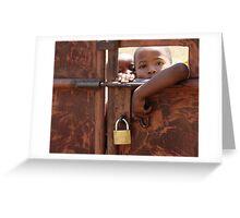 Security Conscious Greeting Card