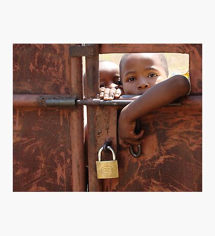Security Conscious Photographic Print
