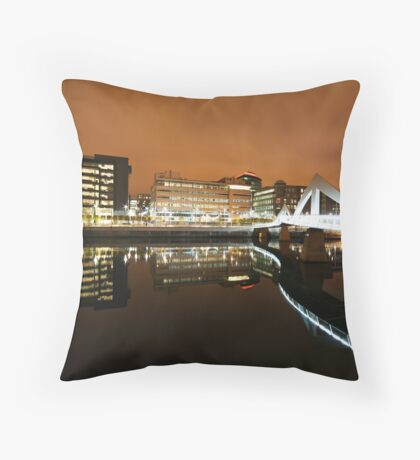 Reflections of Glasgow  Throw Pillow