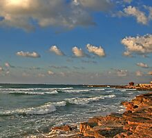 All those waves in Bat - Galim by Nira Dabush