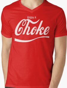 enjoy a choke Mens V-Neck T-Shirt