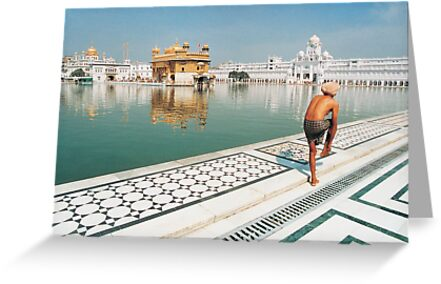 Golden Temple in Amritsar, Punjab (India) by Petr Svarc