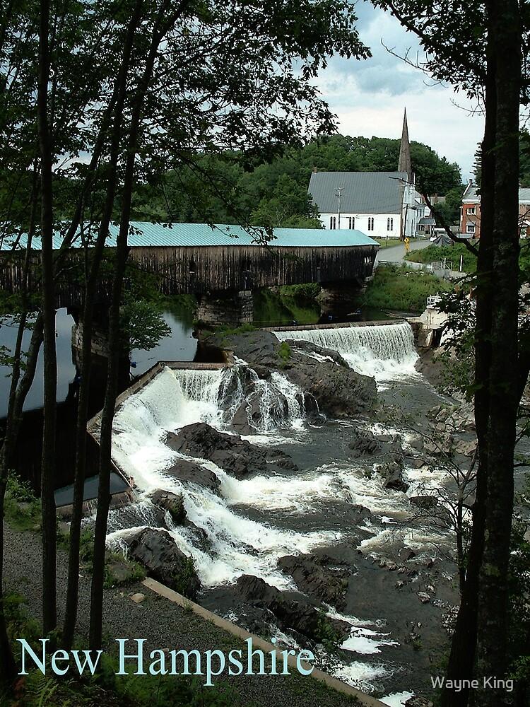 Bath Covered Bridge New Hampshire Poster by Wayne King