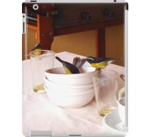 Cheeky Bananaquit Birds iPad Case/Skin