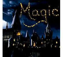 Magical Hogwarts Photographic Print