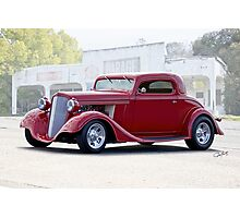 1934 Chevrolet Coupe Photographic Print