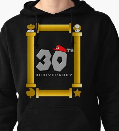 30th Anniversary-Super Mario Bros. Tribute Pullover Hoodie