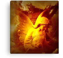 Lifted Up By An Angel Canvas Print