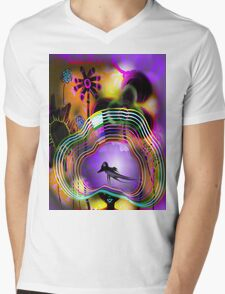 My hat of colors Mens V-Neck T-Shirt