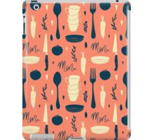 Menu pattern iPad Case/Skin