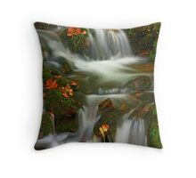 MOSSY CASCADE Throw Pillow