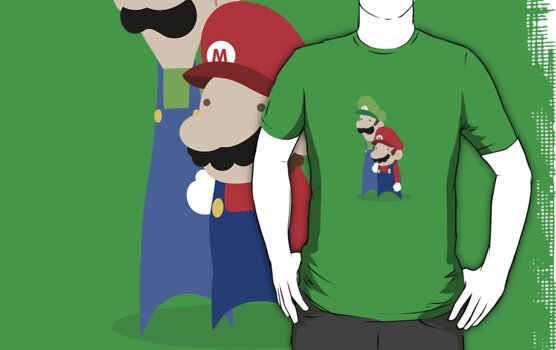 Mario Bros. by Sam Chapman