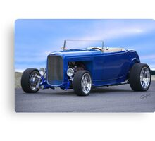1932 Ford HiBoy Roadster 'Ol Blu' Canvas Print