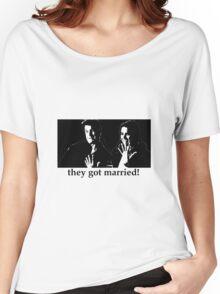 They Got Married (Caskett) Women's Relaxed Fit T-Shirt