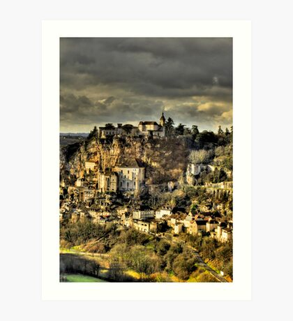 Rocamadour, Lot, SW France Art Print