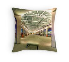 Central Ferry Pier 9 HDR Throw Pillow
