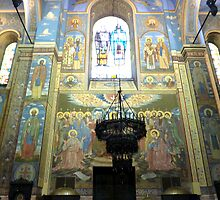 VARNA CATHEDRAL BULGARIA  by Lilian Marshall