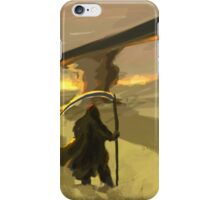 Castle of sand iPhone Case/Skin