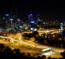 Perth from King's Park by warriorprincess