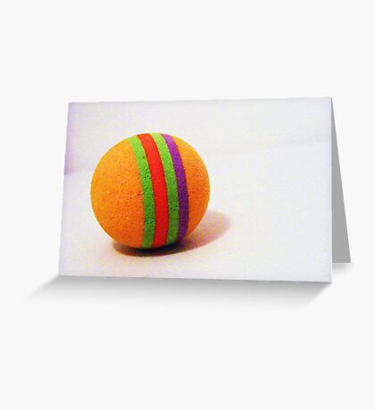 ...The Ball Greeting Card